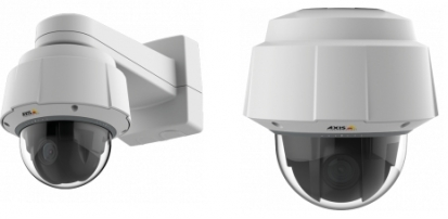 Ještě větší ochrana s novou kupolovou PTZ kamerou Axis