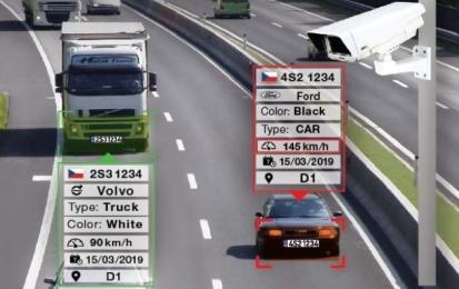 V českých městech probíhá testování aplikace pro kamery Axis – rozpozná barvu a výrobce vozidla