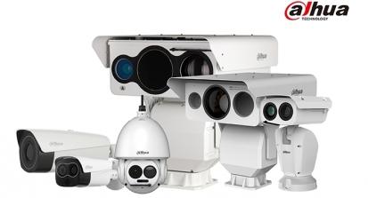 Společnost Dahua představuje nové termální kamery, které reagují na teplotu předmětů